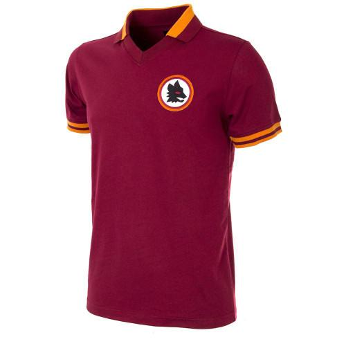 Retro Football Shirts - A.S Roma Home 1978/79 - Crimson/Gold - COPA 733