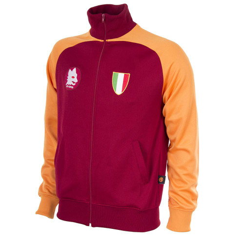 Retro Football Jackets - A.S Roma Scudetto 1983 - Crimson/Gold - COPA 881