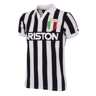 Retro Football Shirts - Juventus Home 1984/85 - White/Black - COPA 147
