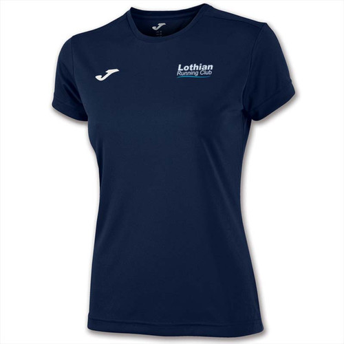 Lothian Athletics Club Girls Short Sleeve Top