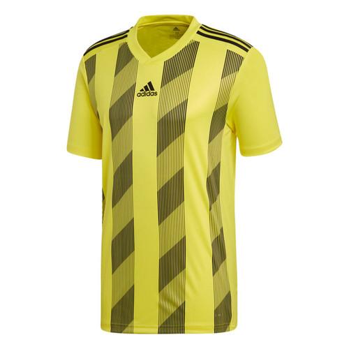 Teamwear Shirts - adidas Striped 19 Match Jersey - Bright Yellow/Black