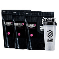 Soccer Supplement Recovery Pack (Strawberry)