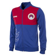 Football Fashion - Tibet Tracksuit Jacket - Blue/Red - COPA 9132
