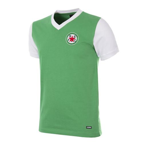 Retro Football Shirts - Red Star F.C. Home 1970's - Green/White - COPA 722