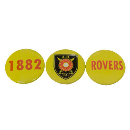 Albion Rovers Badge Set