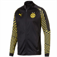 Puma Football Jackets - Borussia Dortmund Tracksuit Top - Black/Yellow - 227475
