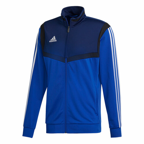 Teamwear Tracksuits - adidas Tiro 19 Poly Jacket - Bold Blue/White
