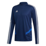Football Sweatshirts - adidas Tiro 19 Training Top - Dark Blue/White