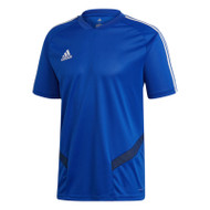 Football T-Shirts - adidas Tiro 19 Training Jersey - Bold Blue