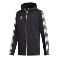 Football Jackets - adidas Tiro 19 Warm Jacket - Black/White - D95955