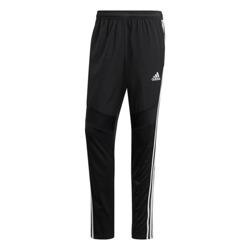 Football Bottoms - adidas Tiro 19 Warm Pants - Black/White - D95959
