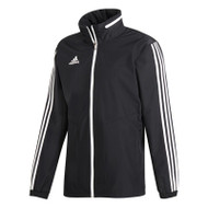 Football Jackets - adidas Tiro 19 All Weather - Black/White