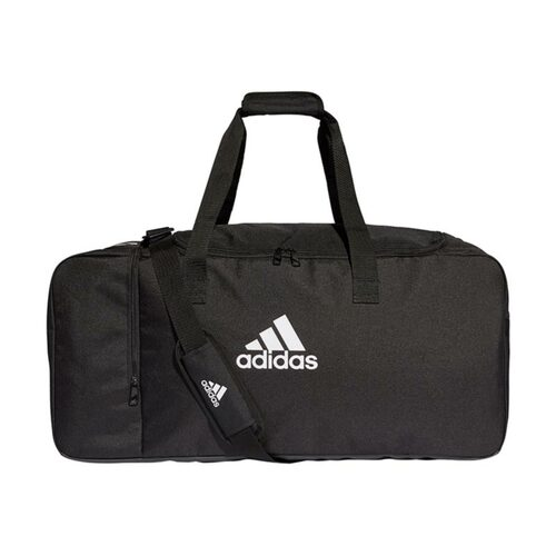 Football Bags - adidas Tiro Duffel Bag - Black/White