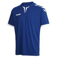 Football Shirts - Hummel Core Short Sleeve Jersey - True Blue