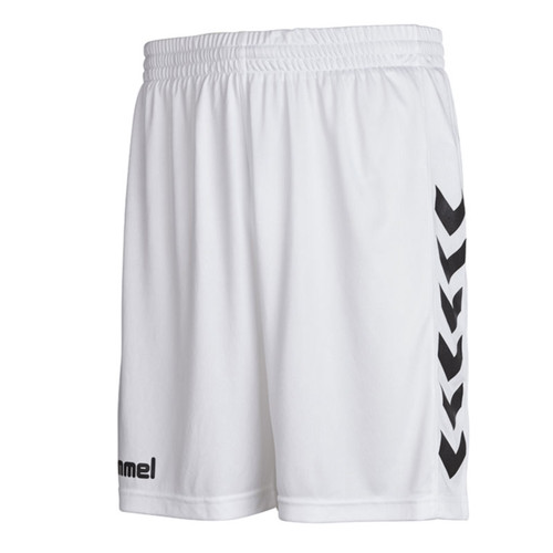 Football Shorts - Hummel Core Poly - White