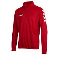 Football Sweatshirts - Hummel Core Half Zip - True Red