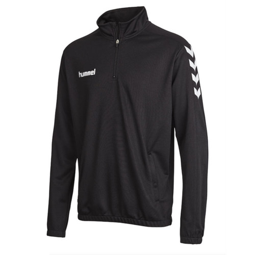 Football Sweatshirts - Hummel Core Half Zip - Black