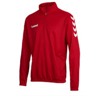 Football Sweatshirts - Hummel Core Half Zip - True Red