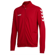 Tracksuit Tops - Hummel Core Poly Jacket - True Red