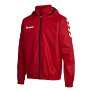 Football Rain Jackets - Hummel Core Spray - True Red