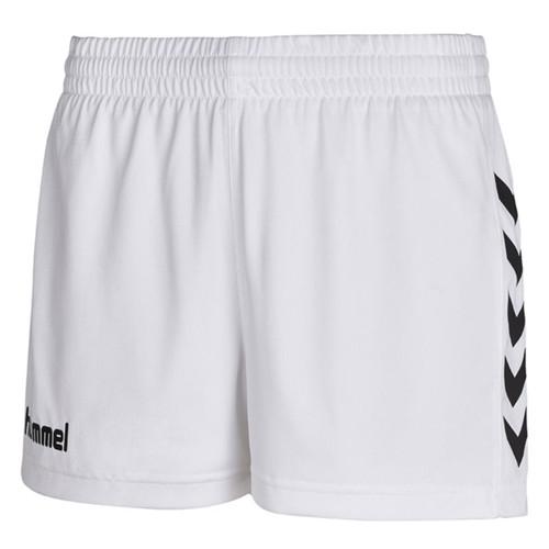 Ladies' Football Shorts - Hummel Core - White
