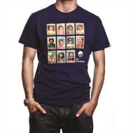 Copa Moustache Dream Team T-Shirt (Blue)