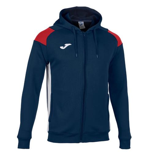 Football Sweatshirts - Joma Crew III Zip Hoodie - Teamwear