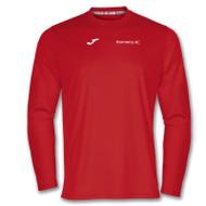 Harmeny Athletic Club Long Sleeve T-Shirt (Red)