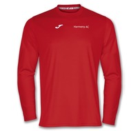 Harmeny Athletic Club Kids Long Sleeve T-Shirt (Red)