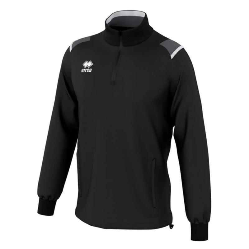 ddcfd2650 Kids Football Sweatshirts - Errea Lars 1/4-Zip - 30% off RRP