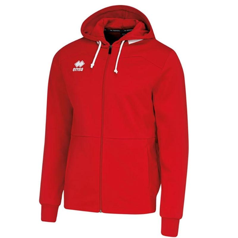 6c2bc0e91 Kids Football Sweatshirts - Errea Gavin Zip Hoodie - Up to 35% off RRP