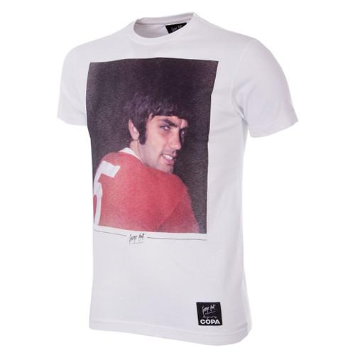 Football Fashion - George Best Old Trafford T-Shirt - Copa 6768