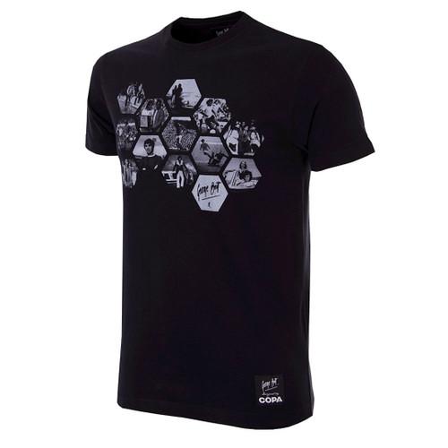 Football Fashion - George Best Hexagon T-Shirt - COPA 6767