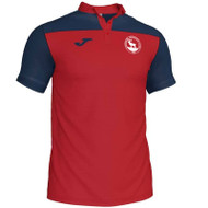 Lasswade Athletics Club Kids Polo Shirt (Red)