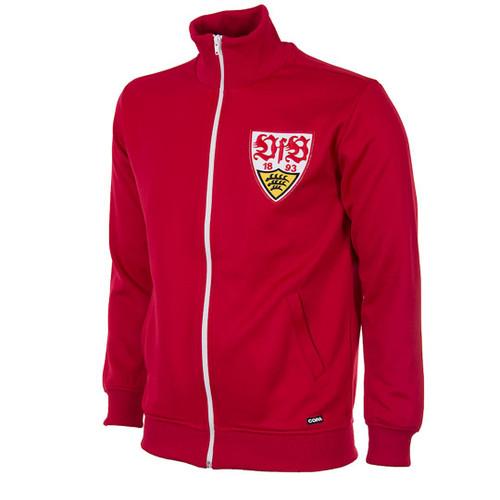 Retro Football Jackets - VfB Stuttgart Tracksuit Top 1970s - COPA 899