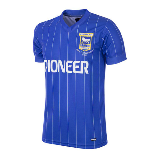 Retro Football Shirts - Ipswich Town Home Jersey 1981/82 - COPA 163