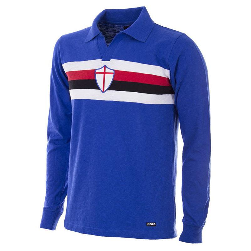 finest selection 8aaeb a3c60 Sampdoria Retro Home Shirt 1956/57