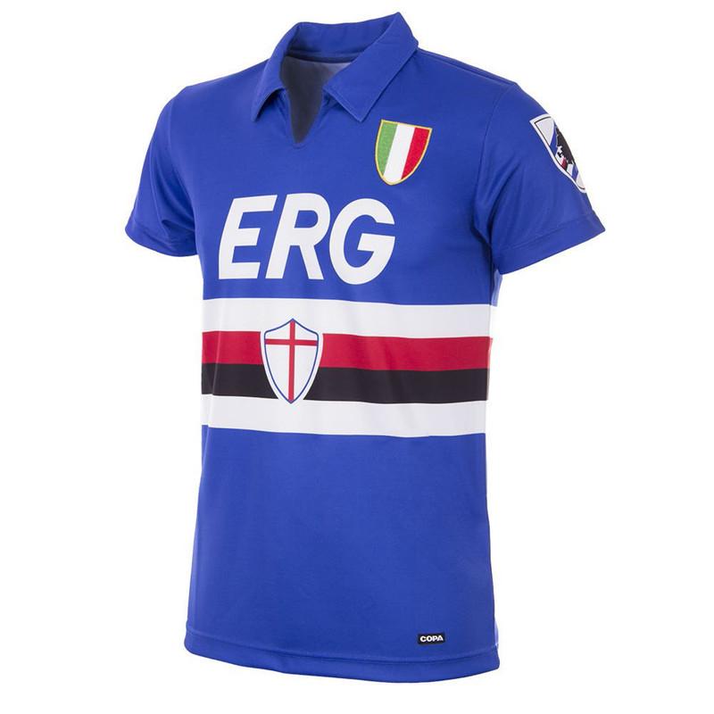 ec7b1bf86aec3e Retro Football Shirts - Sampdoria Home Jersey 1991/92 - COPA 153