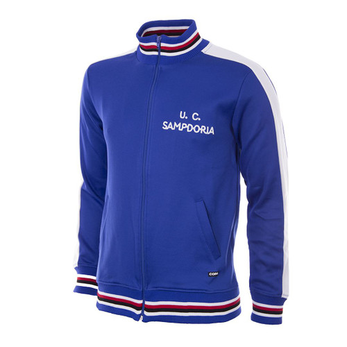Retro Football Jackets - Sampdoria Track Top 1979/80 - COPA 915