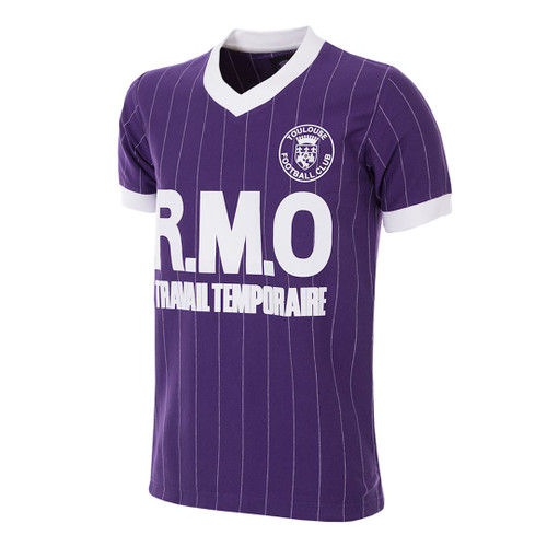 fabbd99b0a6 Retro Football Shirts - Toulouse Home Jersey 1983 84 - COPA