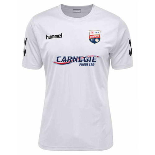 Football Shirts - Montrose Away Jersey 18/19 - White - Hummel