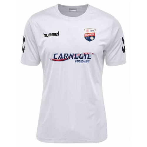 Football Shirts - Montrose Away Jersey 18/19 - White - Hummel