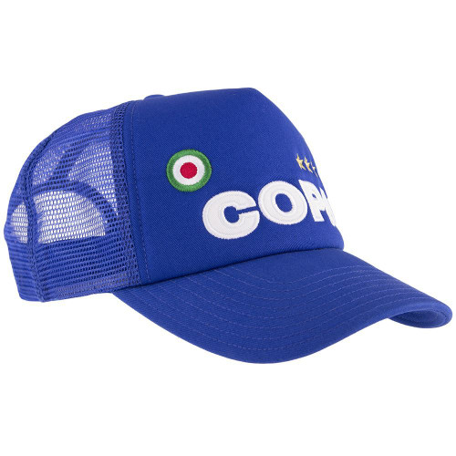 Football Fashion - COPA Campioni Trucker Cap - Blue - 5204