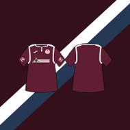 Kelty Hearts Home Shirt 19/20 Keyring