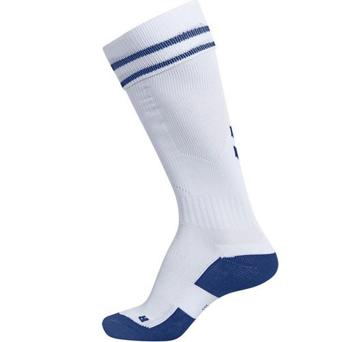 Kids Football Socks - Montrose Home 19/20 - White/Blue - Hummel