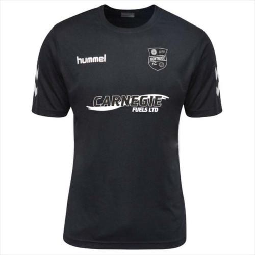 Football Shirts - Montrose 3rd Jersey 18/19 - Black - Hummel
