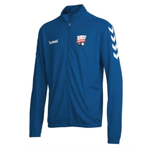 Montrose FC - Kids Tracksuit Jacket - Blue - Hummel