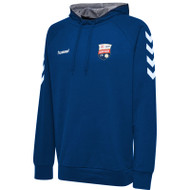 Montrose FC - Kids Hooded Sweatshirt - Blue - Hummel