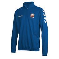 Montrose FC - Kids 1/4-Zip Sweatshirt - Blue - Hummel
