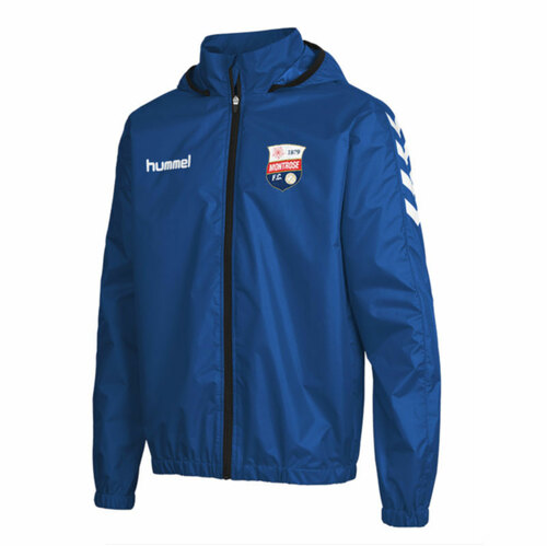 Montrose FC - Club Rain Jacket - Blue - Hummel